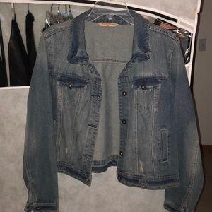 2x Jean jacket